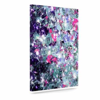 "Ebi Emporium ""In Perpetuity Purple Pink"" Lavender Painting Canvas Art"
