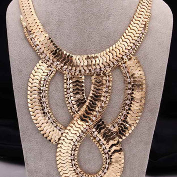 Collares vintage jewelry collar necklace collier many snake jewellry patek chain FASN 24 MP