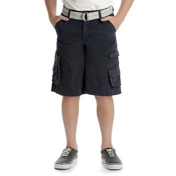 Lee Wyoming Solid Twill Loose-Fit Cargo Shorts - Boys 8-20