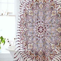 Plum & Bow Lalita Medallion Shower Curtain