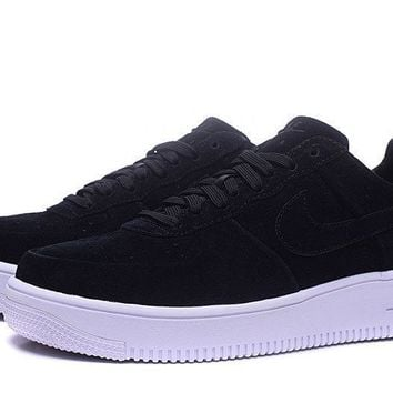 LMFON Nike Air Force 1 ULTRA Af1 Black For Women Men Running Sport Casual Shoes Sneakers