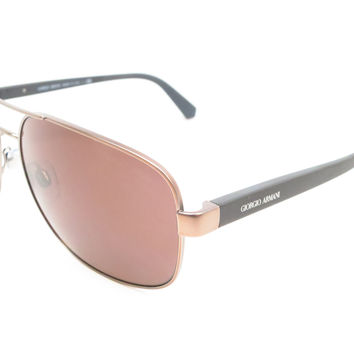 Giorgio Armani AR 6029 3006/73 Brown Sunglasses