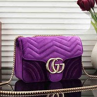 Gucci  Women Leather  Crossbody Shoulder Bag Satchel