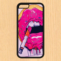Donuts and Cigarettes Art Print Design Art iPhone 4 / 4s / 5 / 5s / 5c /6 / 6s /6+ Apple Samsung Galaxy S3 / S4 / S5 / S6