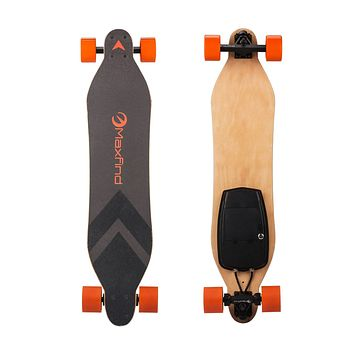 Max A - Electric Skateboard with Dual Hub Motor,World's Most Portable Electric Longboard