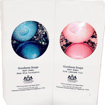 GS Luxe Bath Bombs 3 pack-(click to see scent/color options)
