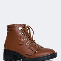 BUCKLE STRAP MOTO BOOT