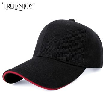 Trendy Winter Jacket TRUENJOY Velvet Baseball Cap 2018 Vintage Snapback Fashion Baseball Hat women Hip Hop Flat Hat Men Bone Dad Cap Adjustable Gifts AT_92_12