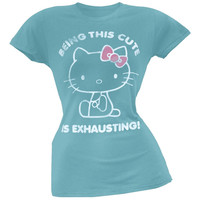 Hello Kitty - Super Cuteness Juniors T-Shirt