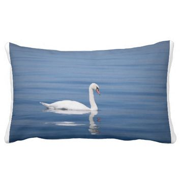 Swan Lake Throw Pillows