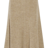 Rosetta Getty - Melton wool midi skirt