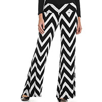 Living Doll Chevron Palazzo Pants | Dillards.com
