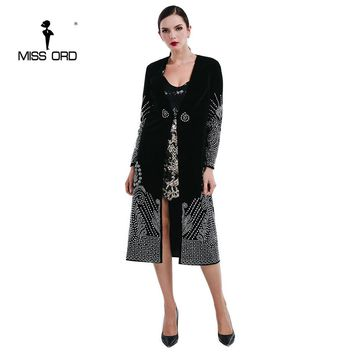 Flash sexy V necked long-sleeved silver color Rhinestone cloak jacket