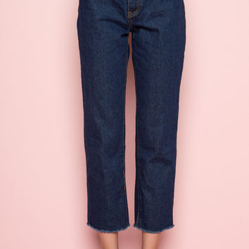Millie Denim Pants - Bottoms - Clothing