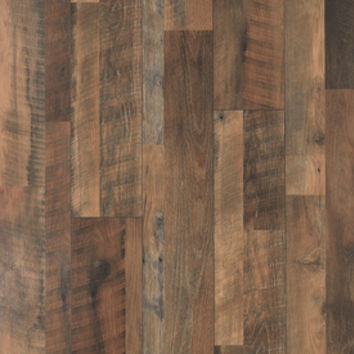 Shop Pergo MAX 7.48-in W x 3.93-ft L River Road Oak Embossed Wood Plank Laminate Flooring at Lowes.com