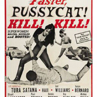 Faster Pussy Cat Vintage Movie Poster
