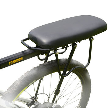 Cycling Rear Carrier DH Bicycle Pad Comfortable Cushion Bike Saddle on Back Shelf Mat Thick Seat Carrying People Cargo 36*15cm