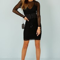 DONNA MIZANI | Paxton Dress - Black