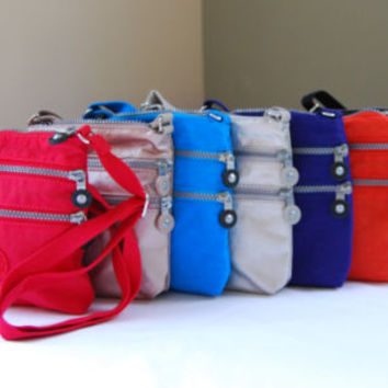 Kipling AC7098 Alvar XS Solid Color Cross body Bag Purse