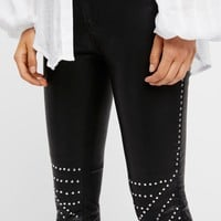 Free People Bright Lights Coated Skinny