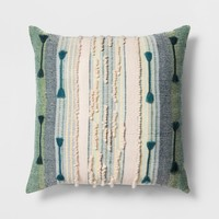 Global Stripe Oversize Square Pillow - Opalhouse™