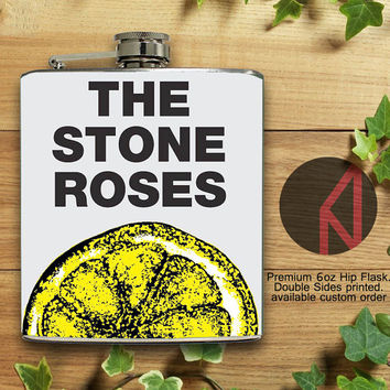The Stone Roses 6oz and 8oz Hip Flask