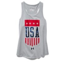Under Armour Girls' UA USA Tank