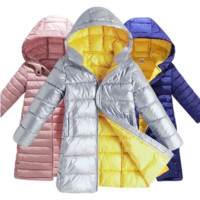 Toddler Winter Jackets Kids Hooded Coats