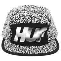 HUF - Black Memphis 10K Volley - HUF, Headwear, Headwear, 5-Panel & Volleys - KNYEW Clothing Boutique