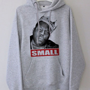 the Notorious BIG gray hoodie for men and women