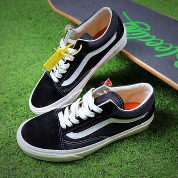 Best Online Sale Vans Vault x Our Legacy Old Skool Pro 92 Black White Sport  Shoes 7689c06c956d