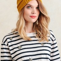 Northern Trails Knit Beanie In Mustard