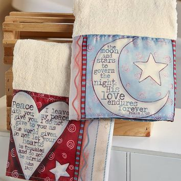 Psalms Inspirational Bathroom Collection Verses Country Look Spiritual