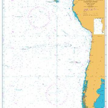 British Admiralty Nautical Chart  4062: South Pacific Ocean Eastern Part