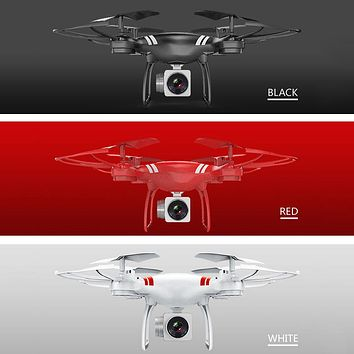 KY101 2.4GHz 4 Channel 6-Axis Gyro 3D Flip Headless Mode G-Sensor 0.3MP Camera Remote Control Quadrocopter Aircraft Drone