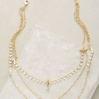 Tikopia Layer Necklace by Anthropologie in Gold Size: One Size Necklaces