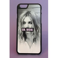 Pink Oh Wow Cassie Skins Phone Case