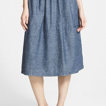 Women's Eileen Fisher Chambray Skirt
