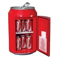 Amazon.com: Koolatron CC10G Coca-Cola Can-Shaped 8-Can-Capacity Fridge, Red: Appliances