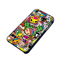 DONUTELLA UNICORNO TOKIDOKI COLLAGE iPhone 4 / 4S Case Cover