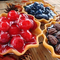 Bakery Fruit Pie Tart | nikkicandles - Candles on ArtFire