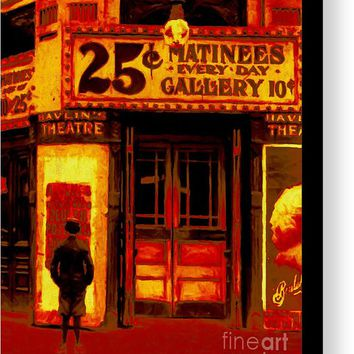The Matinee - 20130207 Canvas Print