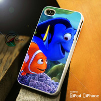 Finding Nemo And Dory iPhone 4 5 5c 6 Plus Case, Samsung Galaxy S3 S4 S5 Note 3 4 Case, iPod 4 5 Case, HtC One M7 M8 and Nexus Case