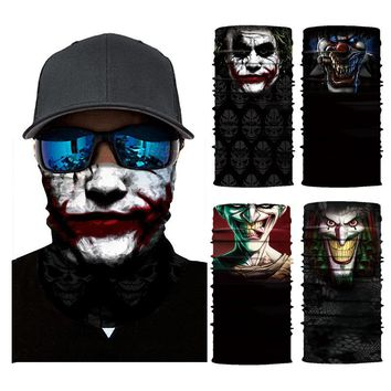 Multifunctional Bandana Scarf Mask Skull Bandana Motorcycle Bicycle Neck Cover Seamless Mask Bandana Head Scarfs Bandanas DS012