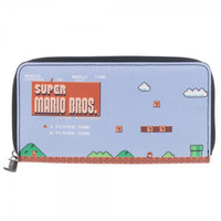 Super Mario - Large Zip Around Wallet