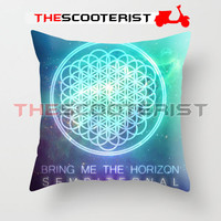 "Bring Me The Horizon Sempiternal - Pillow Cover 18"" x 18"" - One Side"