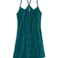 AEO Women's Heathered Sundress (Teal)