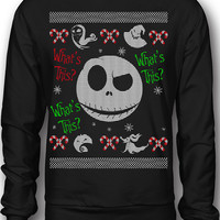 EXCLUSIVE Nightmare Before Christmas Ugly Sweatshirt!