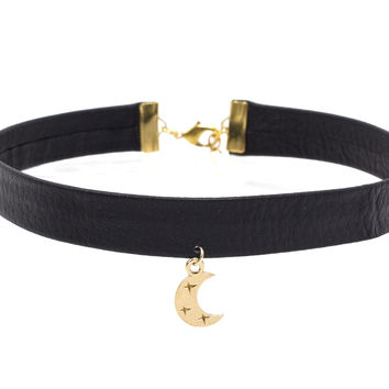 Artemis Leather Choker