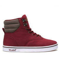 Milo Canvas in Burgundy